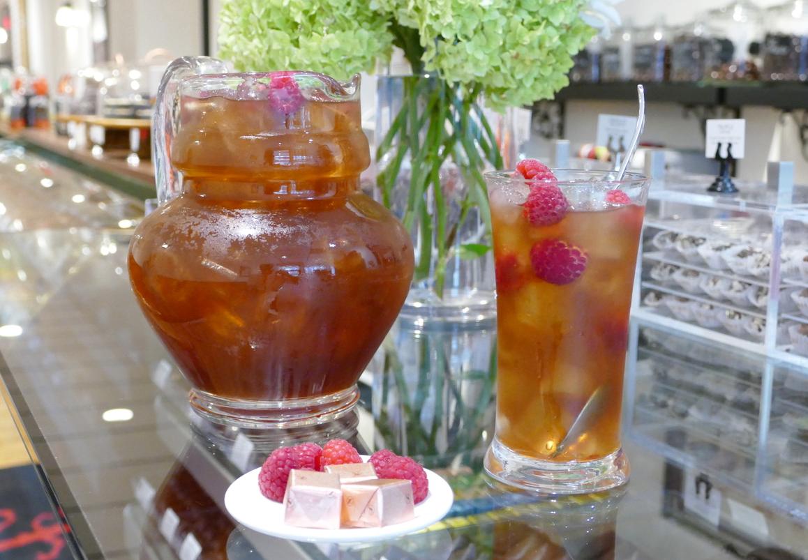 Tea and glass